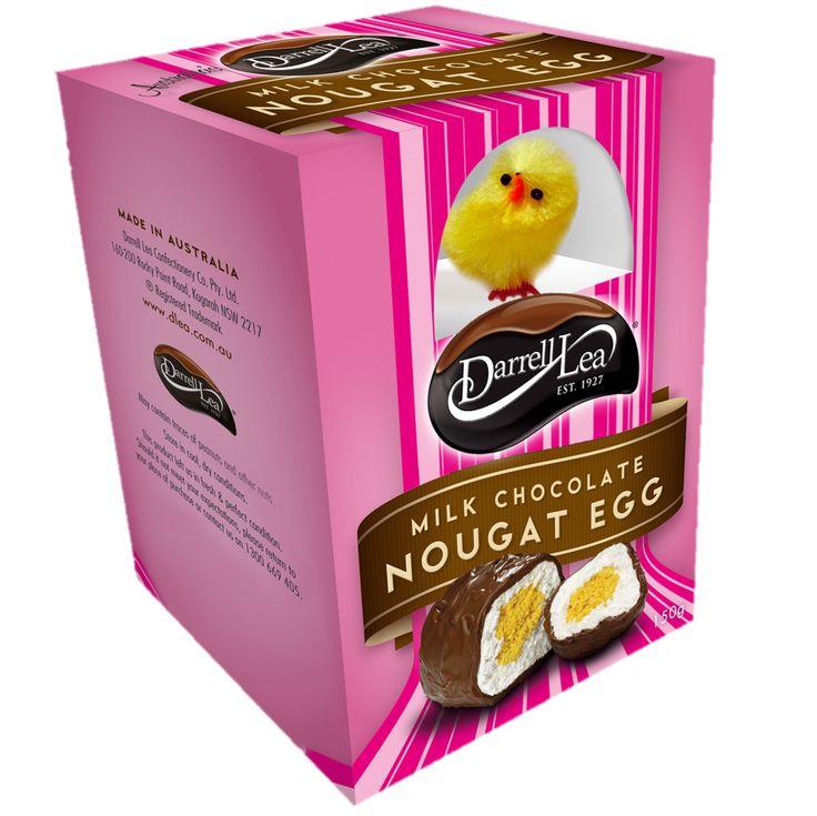Darrel Lea's Nougat Soft Egg Milk Pink 2016