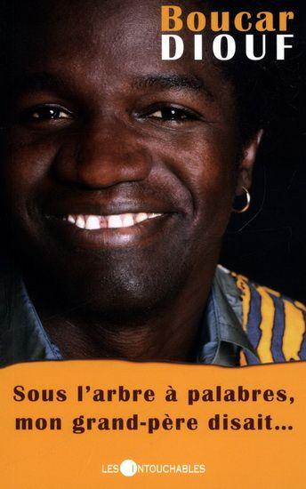 Toutes ces années passées dans le Bas-du-Fleuve ont fait de Boucar Diouf un « baobab recomposé », comme il le dit lui-même.  « Entre mes racines africaines et mon feuillage québécois, se dresse mon tronc sénégalais. »  Ce recueil de contes et d'anecdotes est à l'image de ses spectacles : un délicieux mélange de tendresse et d'humour, un savoureux voyage de la savane à la banquise !  Cote: PS 8558 i68S6 2007