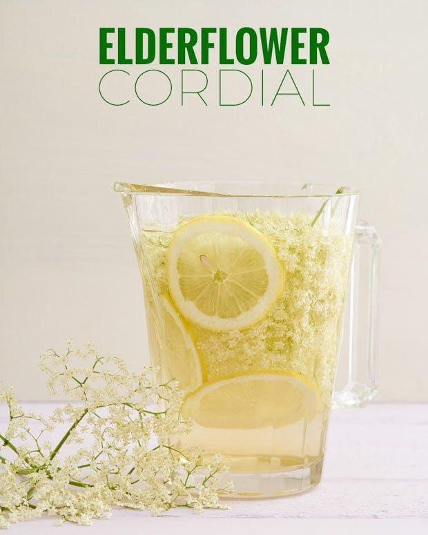 This is a quick and easy elderflower cordial recipe that is fantastic ...