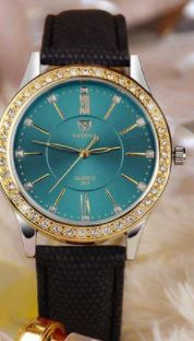 Only $19.99. Gold, diamond, quartz womens watch. Spoil yourself with this gorgeous watch, calm enough to wear during the day, enough bling to wear in the evening. SUPER PRICE. Purchase from www.shop24seven365.com.au