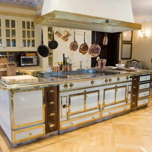 French Kitchen Stove: La Cornue, Kitchens And Dream Kitchens