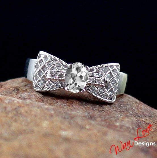 Who doesn't like a bow with diamonds?