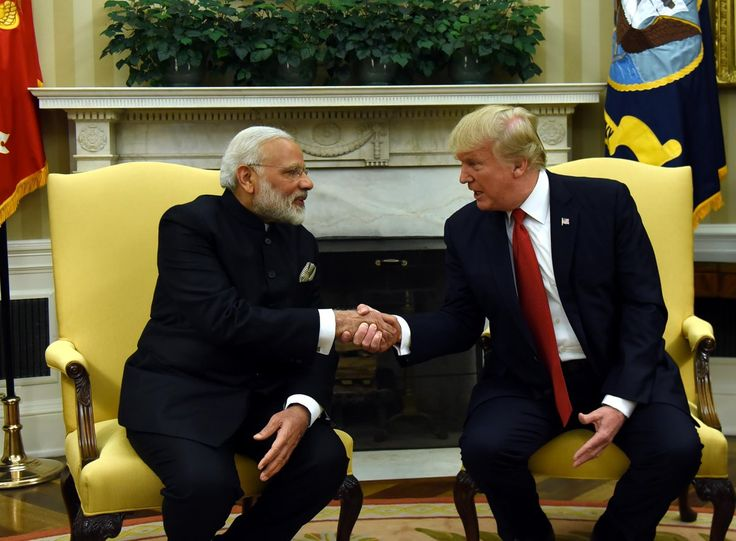 https://twitter.com/ Narendra Modi‏Verified account @narendramodi 13h13 hours ago  India & USA are global engines of growth. @POTUS & I discussed ways to strengthen the economic & trade relationship between our nations.