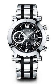 SS Black SSR Tiffany & Co часы Atlas Chonograph