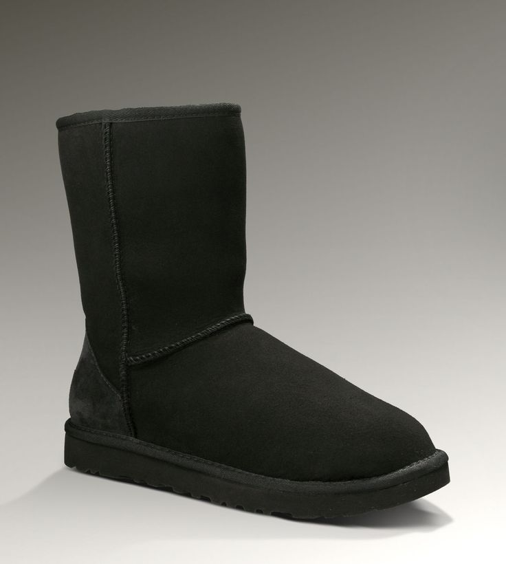 Women UGG Classic Short Boots Black