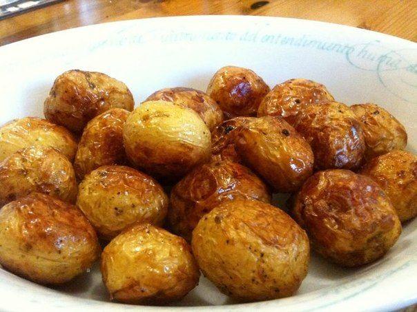 Картофель, запеченный с мёдом и травами Вкусные привычки