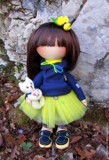Человечки ручной работы. Ярмарка Мастеров - ручная работа. Купить Интерьерная кукла Горджус (по мотивам Сьюзанн Вулкотт). Handmade.