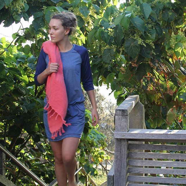 Slip on the Asher Active Dress after a swim, or just to feel super comfortable while staying cool in this heat!