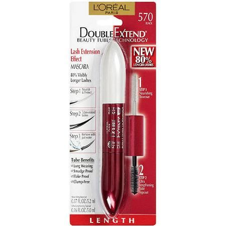 L'Oreal Paris Double Extend Mascara - Walmart.com not advertised as waterproof but it definitely is!!!