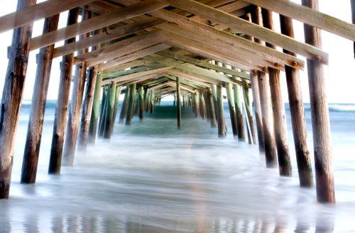 sportsman pier atlantic beach nc: gone and sorely missed!!!