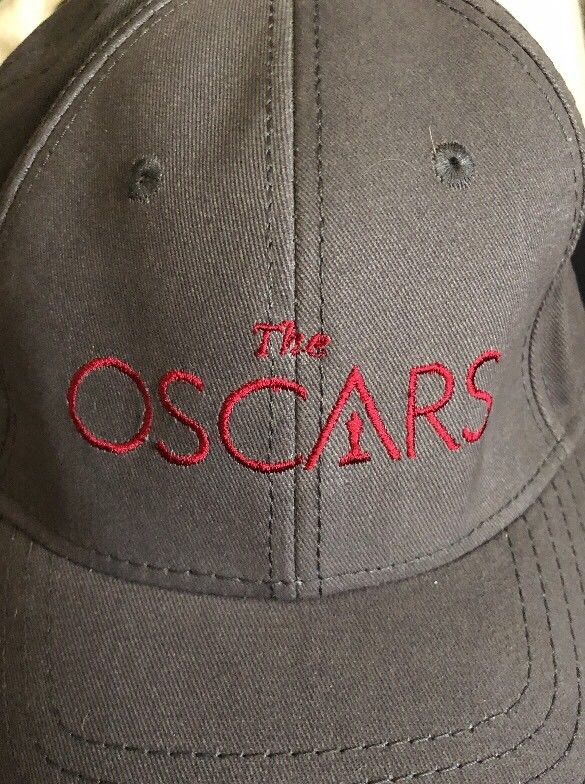 11bccce18dd The Oscars 89 Embroidered Logo Academy Awards Gray Baseball Cap Hat Adj   fashion  clothing