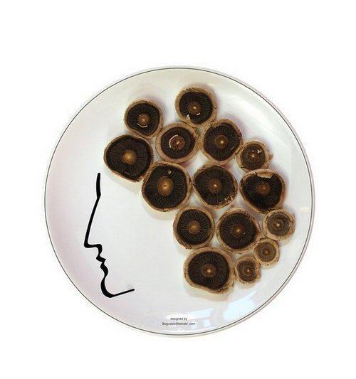 FaceOn with mushrooms | Boguslaw Sliwinski