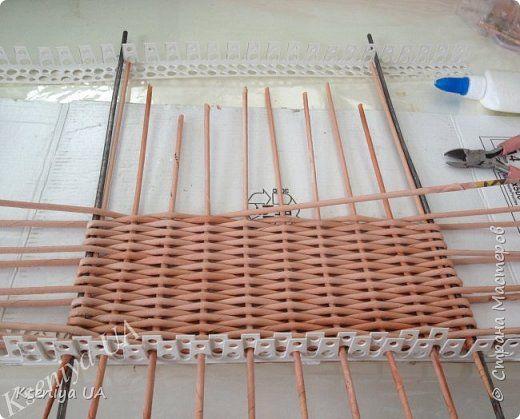 Как сплести плетеное донышко с двойными стоячками (МК)