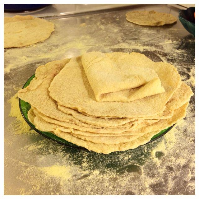 Naturligt glutenfria tortilla (vetefritt, mjölkfritt)