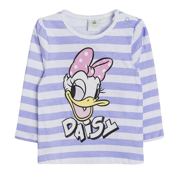 T-shirt dziewczęcy z długim rękawem, Daisy