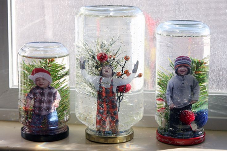 Winter In Your Hand: DIY Snow Globes