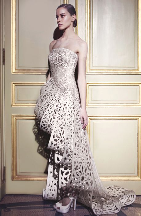 crochet Haute Couture run way | wedding dresses # wedding # bridal gowns