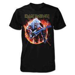 Tricou Iron Maiden: Fear Live Flames
