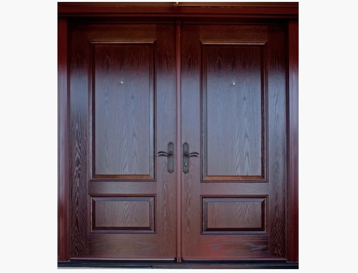 Cheap Double Entry Doors Latest Fleurdelis Arch Mahogany Prehung Double Wood Door Unit With