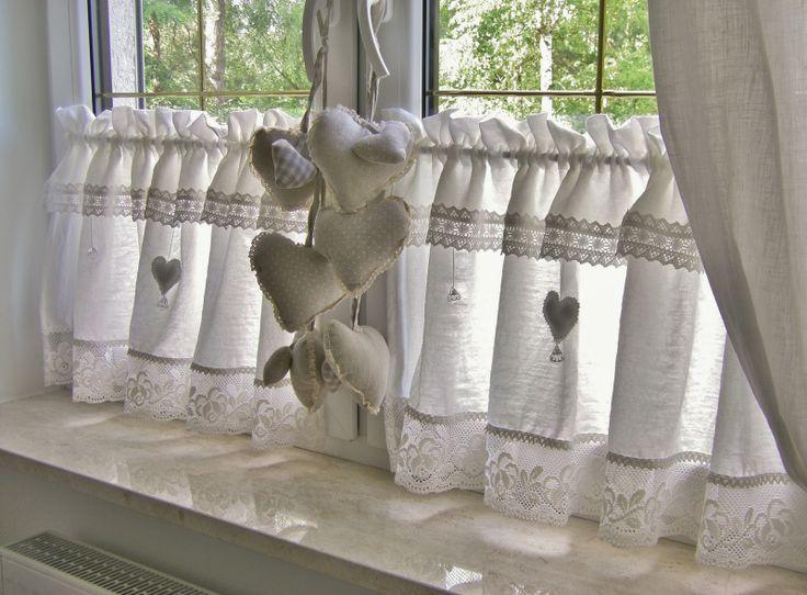 small shabby curtains / zazdrostki Shabby