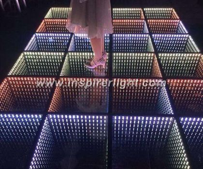 Infinity mirror Led club dance floor - Inspirer Light