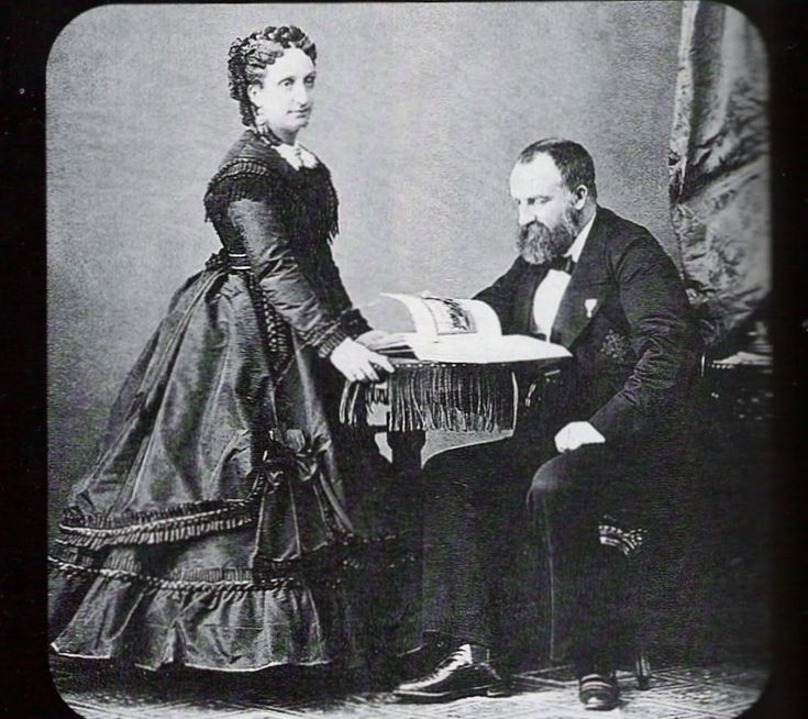 Antoine d´Orleans and Luisa Fernanda of Borbon, infanta of Spain, Duke and Ducheess of Montpensier