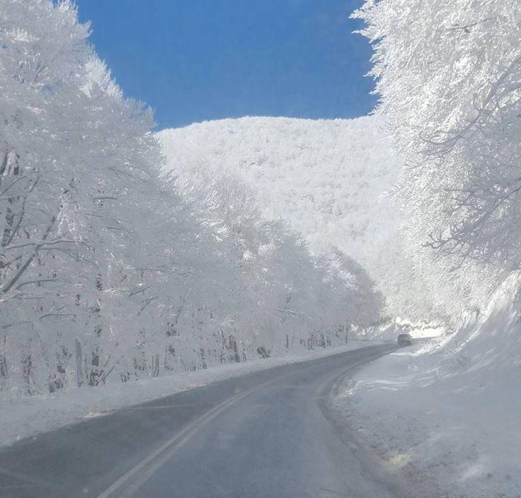 Vigla Florina 2017. Read more about Florina. http://www.dialashop.com/travel/florina.html #northern #greece #greek #travel #snow