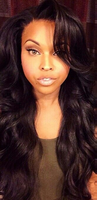 Get this look with our Brazilian Double Drawn Tapeins or Micros. Way better then sew ins lays flat last for months fast & easy to apply. www.glamfusionext.com