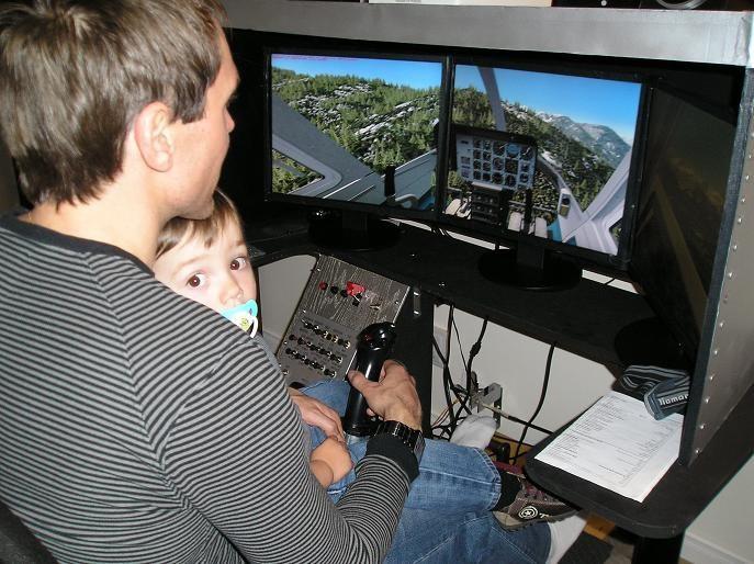Simulateur Bell 206