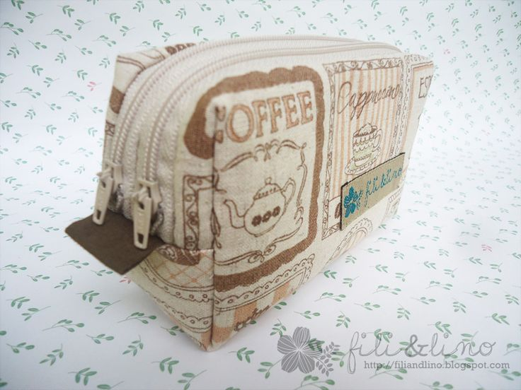 Fili&Lino Crafting Haven: Tutorial: Double Zippers Pouch