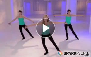 Tight and Toned Arms Like a Dancer: You'll love this barre style workout! | via @SparkPeople #fitness #exercise #video