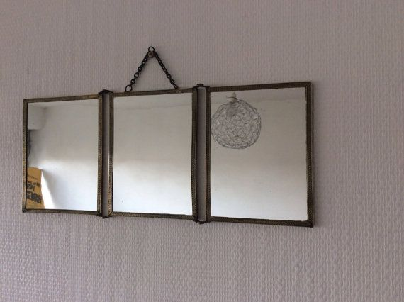 17 meilleures images propos de miroirs vintage sur for Miroir ancien barbier