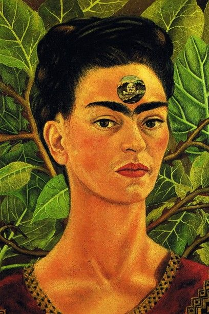 Frida Kahlo. Auto-retrato