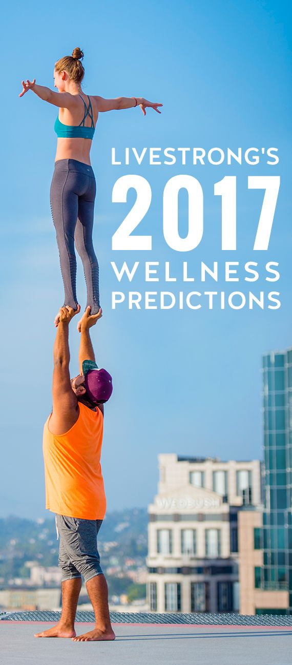 Our Livestrong.com fitness and nutrition experts keep their fingers on the pulse of the latest wellness trends of interest to our audience so we can provide up-to-date info on the topics our readers care about most. Here are our 2017 wellness predictions!