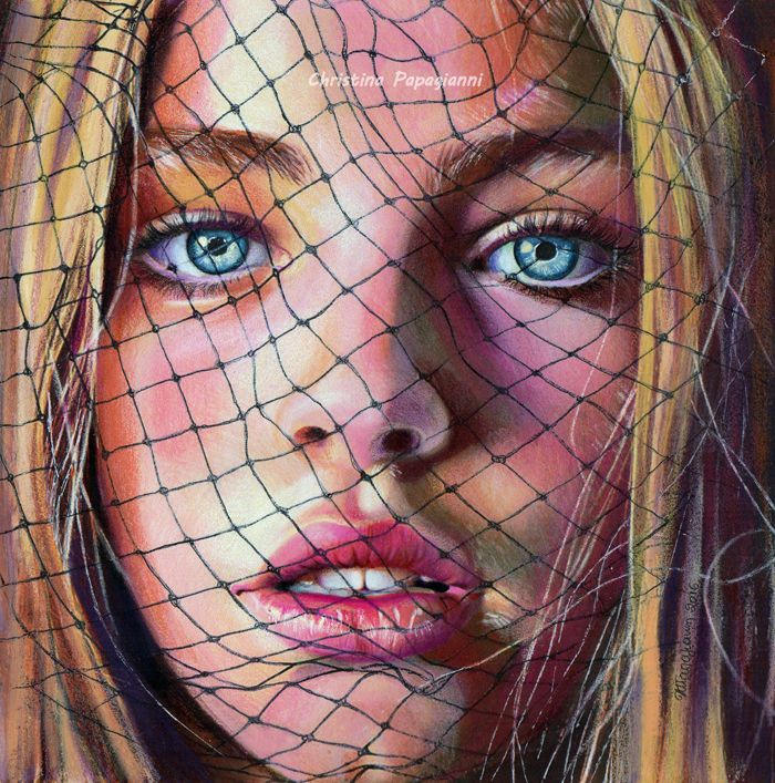 Best Drawing Images On Pinterest Drawings Art Lessons And - Artist uses pencils to create hyperrealistic drawings of paint