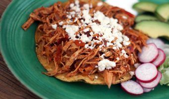 Have you ever heard of chicken tinga? To be honest I hadn't heard of this dish until I moved to Colorado and went to a friend's baby shower. Everyone kept telling me about this chicken tinga that I needed to try. When I finally made it over to the kitchen I saw a huge pot …