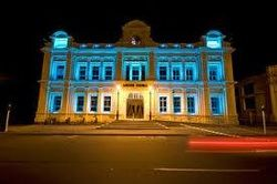 TNNME & Trigeminal Neuralgia Awareness Fighters would like to thank Oamaru New Zealand for lighting up The Oamaru Opera House TEAL for our 1st International Trigeminal Neuralgia Awareness Day!