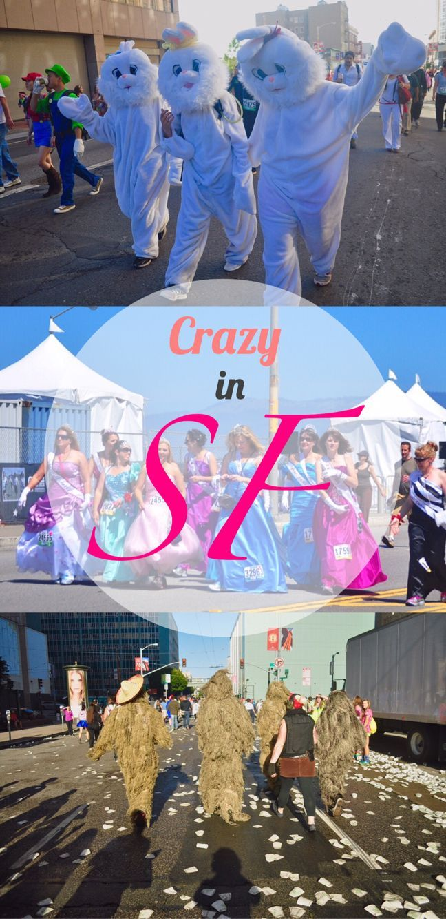 Bay to Breakers - Crazy and fun times on the streets of San Francisco in North America!