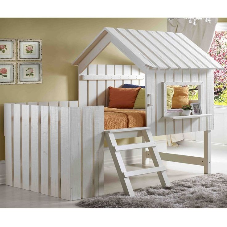 Dream House Rustic Pearl Twin Cabana Loft | Weekends Only Furniture And  Mattress