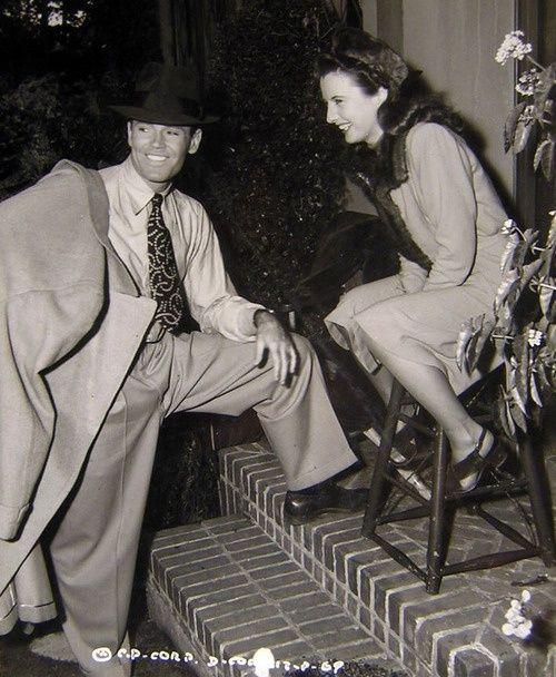 Barbara Stanwyck and Henry Fonda