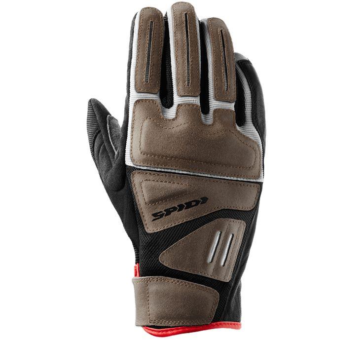 Spidi Automatiko abbina lo stile e le caratteristiche dei guanti da motocross degli anni '70 a materiali moderni ed un accurato studio delle ergonomie di guida.