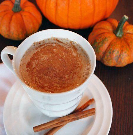 Pumpkin Spice Steamer - your homebased mom