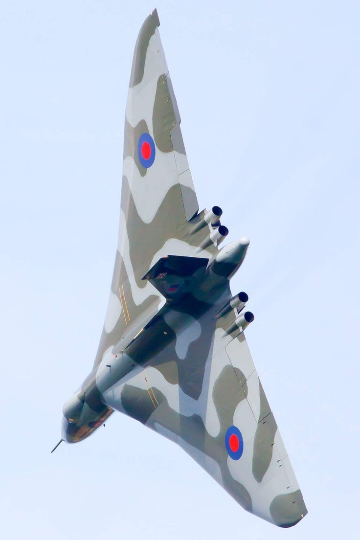 Vulcan - Pilot tried to part my hair after a near-miss at Coventry Airport on the first of it's last flights...........