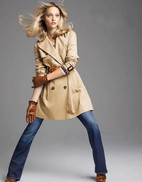 Camel Trench, Camel boots and camel gloves
