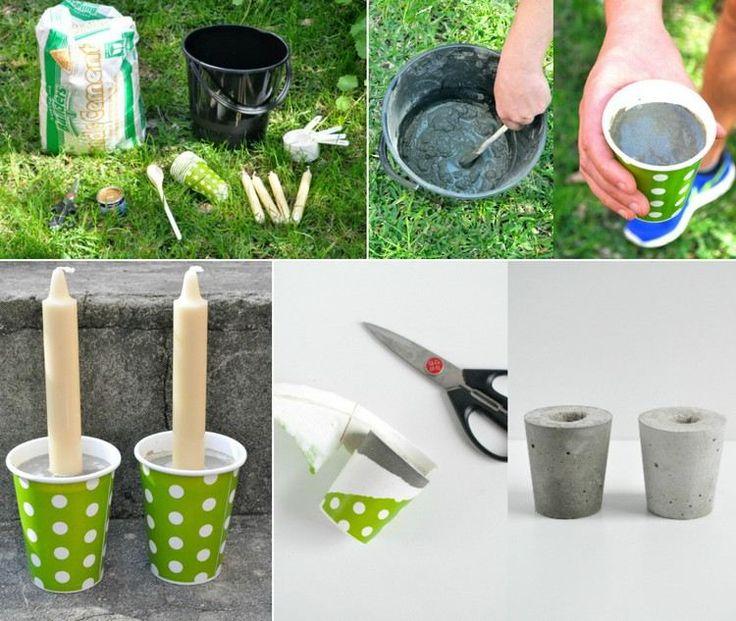 Πάνω από 25 κορυφαίες ιδέες για Adventskranz selber machen - betonplatten selber machen