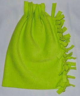 Easy No Sew - Homemade Fleece Hat