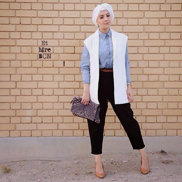 High Waisted Pants for Stylish Hijab Fashion Style ala Ascia AKF