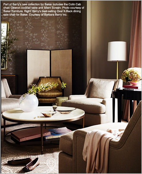 Barbara barry interiors my style file home inspy for Barbara barry bedroom furniture