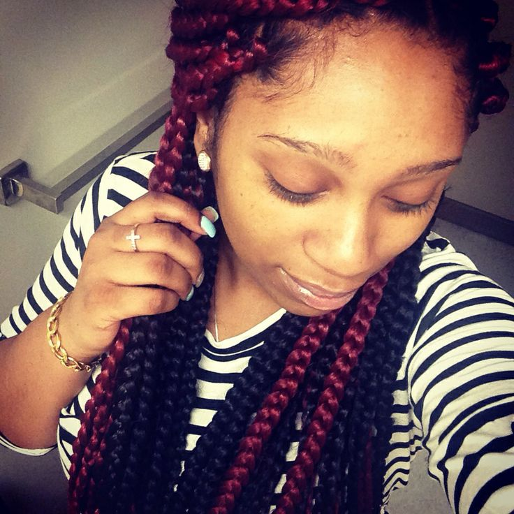 #braids #poetic #justice #hair #protective style
