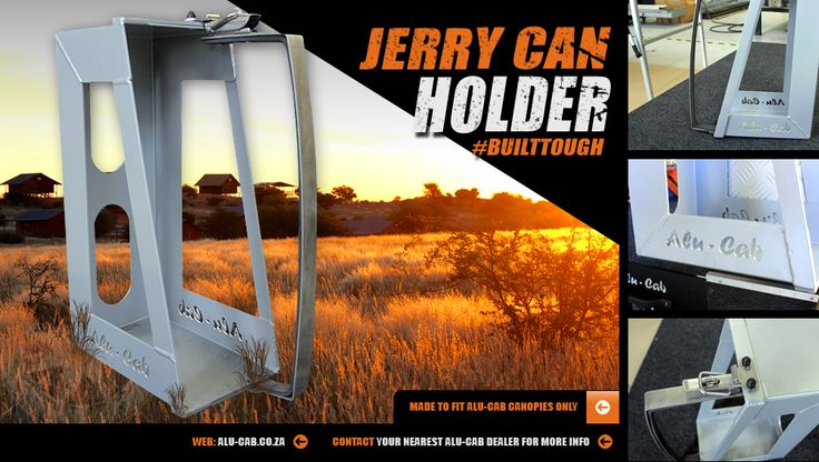 Alu-Cab's Jerry can holder